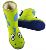 Toasty Toez Dino Slipper Boots for children
